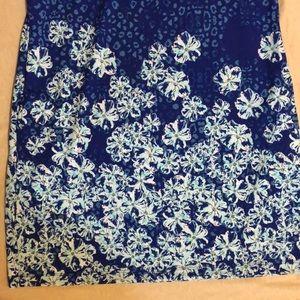 Izod Swim - Izod golf sport collar neck dress (lg) polyester
